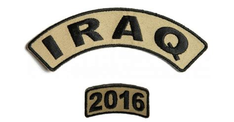 Patch Set 2016 T0310 iraq 2016 two patch set iraq war patches thecheapplace
