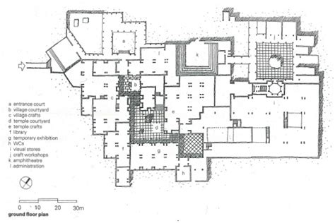 arts and crafts floor plans crafts museum in delhi india by charles correa