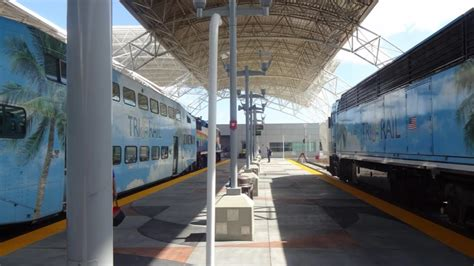 Ride To Airport by Tri Rail Ride To Miami Airport Part 1