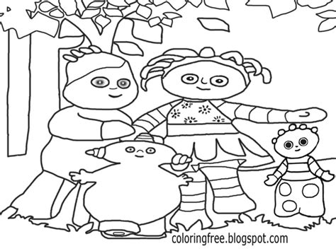 makka pakka free colouring pages