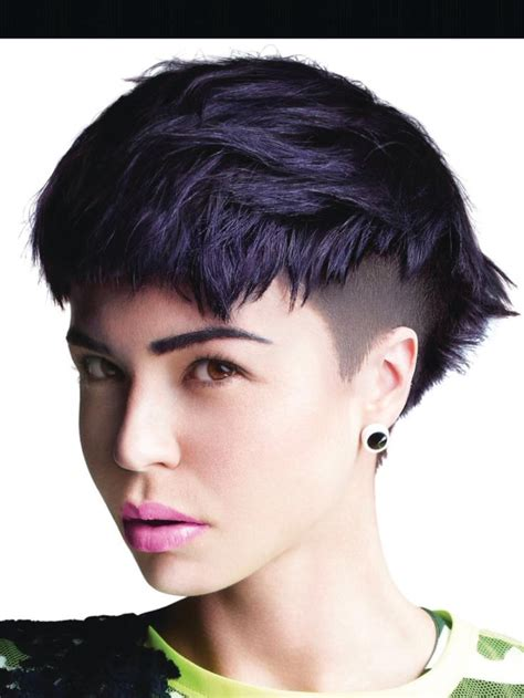 toni and guy hair cut voucher 2014 toni and guy hot deep violet undercut hair pinterest