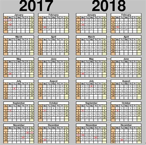 printable calendar 2017 and 2018 school calendar 2017 2018 2017 2018 school calendar