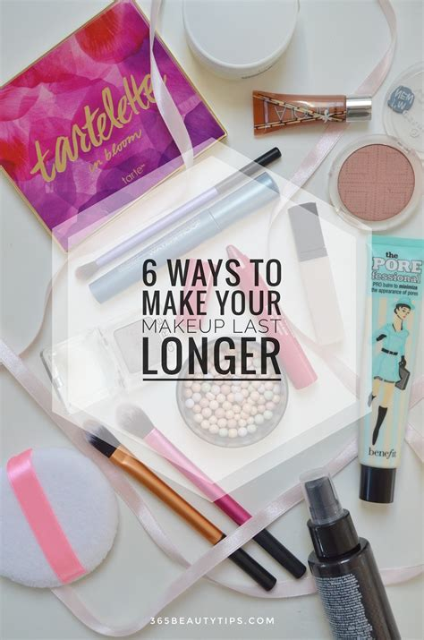 8 Ways To Get Makeup To Last Longer by 6 Ways To Make Your Makeup Last Longer 365beautytips
