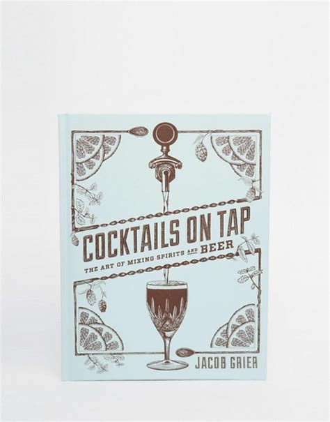 libro a tap on the books cocktails on tap libro