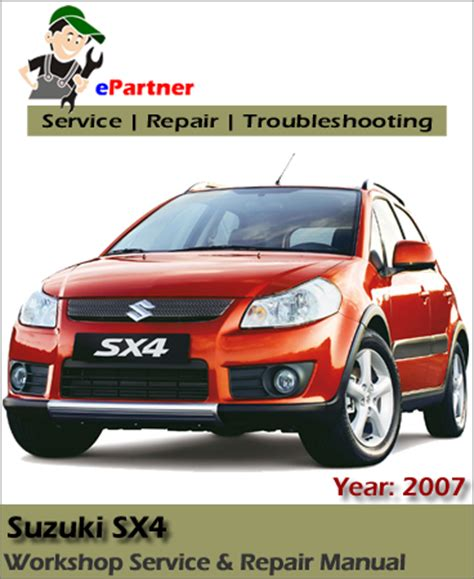 free auto repair manuals 2008 suzuki sx4 on board diagnostic system suzuki sx4 service repair manual 2006 2008 automotive service repair manual