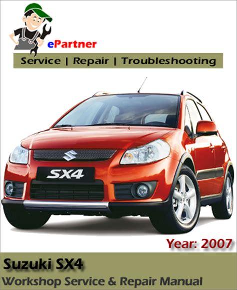 service and repair manuals 2008 suzuki sx4 electronic toll collection suzuki sx4 service repair manual 2006 2008 automotive service repair manual