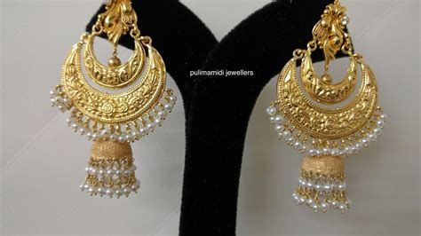 new fashion gold earrings designs collections