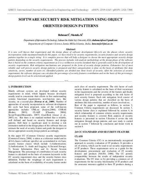 design pattern research paper research paper on object oriented software engineering