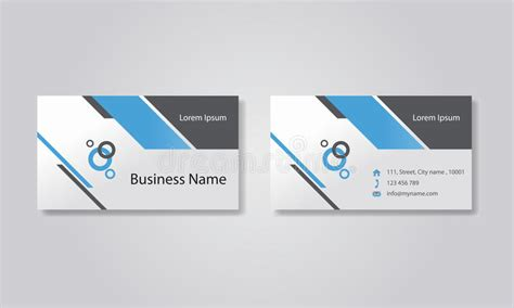 editable business card template business card template design backgrounds vector eps 10