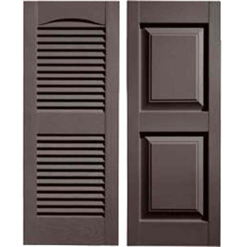 musket brown shutter and door shutters brown doors and shutters