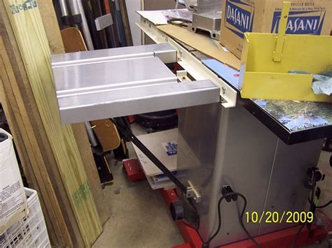 table saw outfeed table ideas table saw outfeed table ideas woodworking