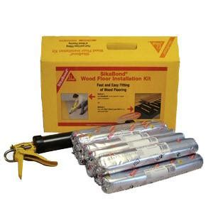 sikabond wood floor installation kit sticky products