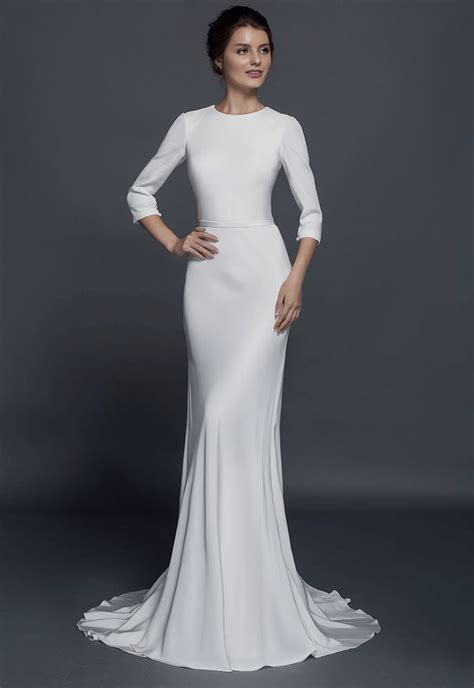 Wedding Dress With Sleeves by Modest Sleeve Wedding Dresses From Darius Couture