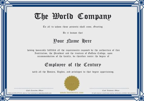templates of certificates and diplomas free diploma certificate template certificate templates