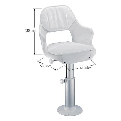 boat pedestal seat cushions misc plastimo captain seat cushions aluminium