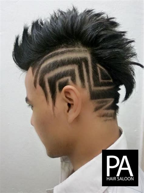 hair tattoos for men 25 best ideas about hair saloon for on