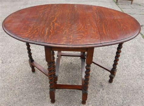 Small Gateleg Dining Table Oval Oak Dropleaf Gateleg Small Dining Table 180454 Sellingantiques Co Uk