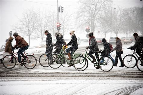 winter bicycle winter cycling addressing the challenges year after