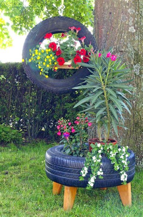 Kunst Im Garten Selber Machen 2111 by Upcycling Alte Autoreifen Gartenschmuck Diy Selbermachen