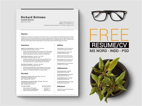 U Of T Resume Template by 10 Free Simple Clean Resume Cv Templates You Would