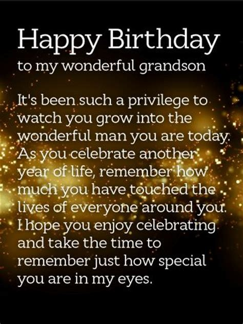 Birthday Quotes For A Grandson Best 25 Grandson Birthday Quotes Ideas On Pinterest
