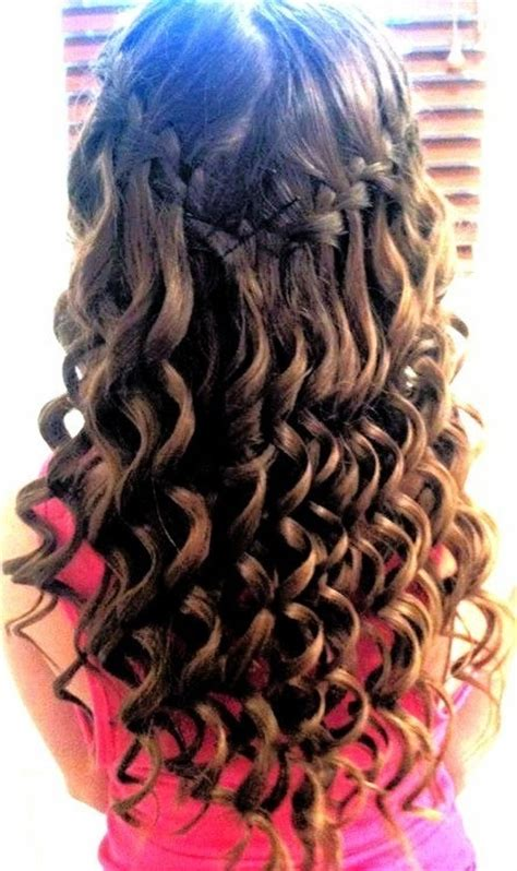 cute wand hairstyles curly hairstyle