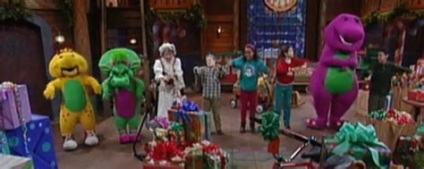 barney and the backyard gang christmas barney s night before christmas cast images behind the voice actors