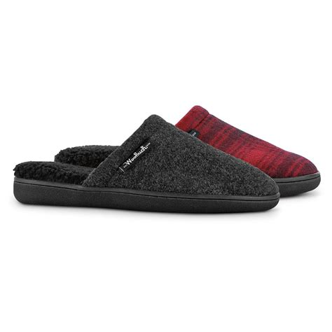 woolrich house shoes woolrich men s chatham c slide slippers 668984 slippers at sportsman s guide