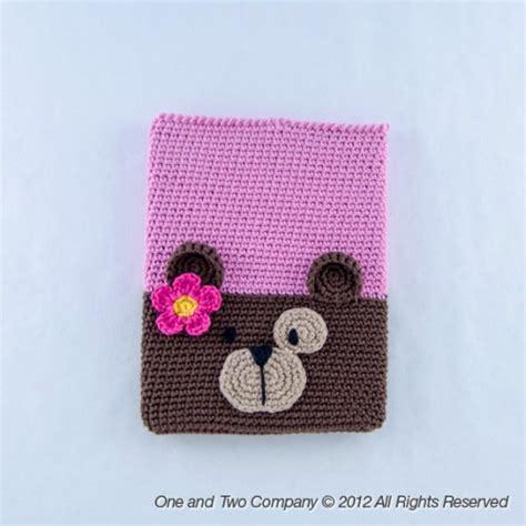 crochet ipad bag pattern bear ipad case crochet pattern