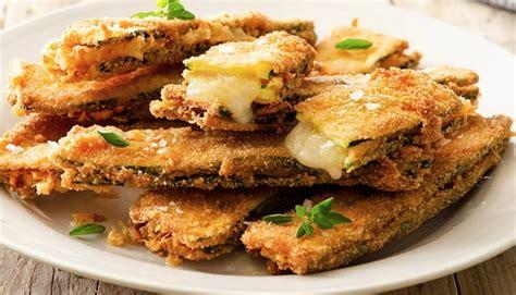 cosa cucinare con le zucchine zucchine fritte ripiene di formaggio le ricette con le