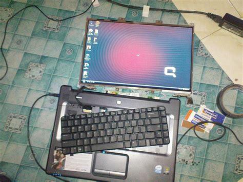 Monitor Rusak trik perbaiki lcd laptop yang rusak blank serumpunilmu21
