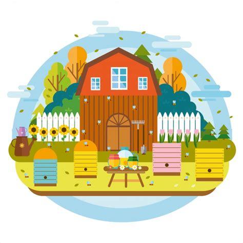 farm layout design software free download farm background design vector premium download