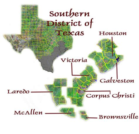 texas federal district court map about us usao sdtx department of justice