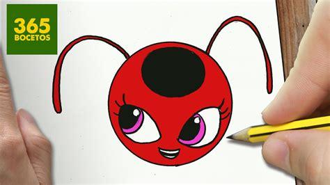 imagenes kawaii ladybug como dibujar tikki de lady bug kawaii paso a paso