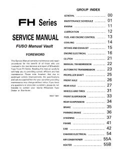 service repair manual free download 1995 mitsubishi truck interior lighting 1992 1995 mitsubishi fuso fh100 truck service manual pdf download