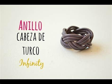 como hacer anillos de cuero c 243 mo hacer un anillo infinity nudo cabeza de turco con