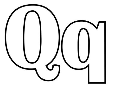 coloring pages for boys dotcom svg file classic alphabet q at coloring pages for boys