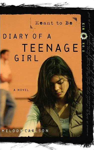 libro diary of a teenage meant to be diary of a teenage series kim 2 by melody carlson paperback barnes noble 174