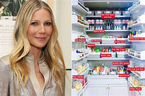 gwyneth paltrow pantry gwyneth paltrow mirror
