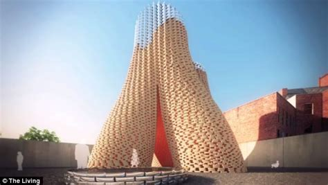 Design Building Online tower of fungus set to grow in new york self building