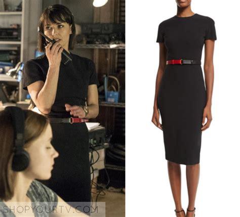 Dress Quin Navy season 2 episode 2 quinn s navy belted dress
