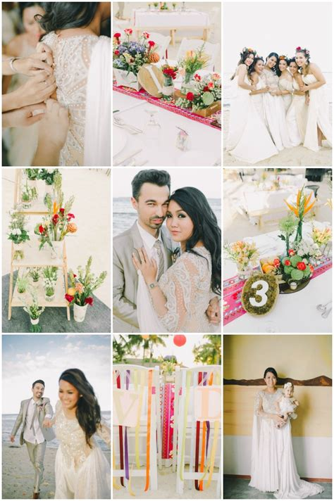 Wedding Attire Packages Philippines stylish and colourful wedding in the philippines