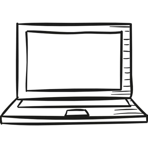 Drawing Laptop by Draw Laptop Free Technology Icons