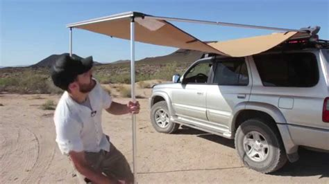 arb awning side walls cing essentials arb awning youtube