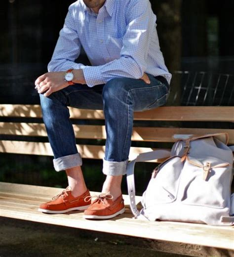 boat shoes jeans no socks boat shoes with jeans malefashionadvice