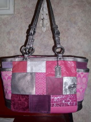 Coach Patchwork Gallery Tote - free coach patchwork gallery tote limited edition