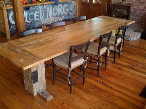 barn wood dining room table farm table top design ideas modern diy art designs