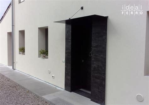 tettoia per esterno pensilina e rivestimento esterno idealferro
