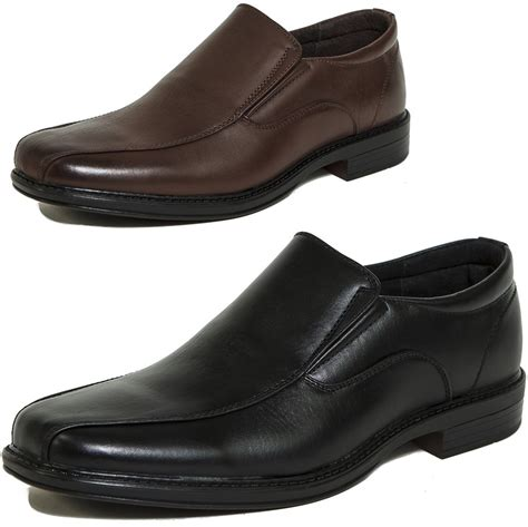 dress shoes alpine swiss s dress shoes leather lined slip on
