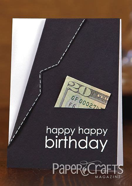 Gift Cards For Him - stylish suit jacket quot happy birthday quot card gift card holder amy wanford paper